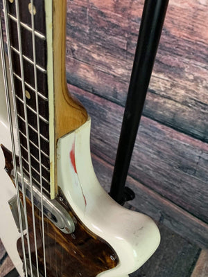 Framus Electric Bass Used Framus 60's Strato Star 4 String Electric Bass with Gig Bag