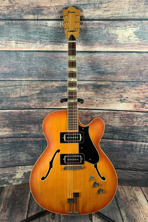 Framus Electric Guitar Used Framus 1974 Missouri Vintage Hollow Body Electric German Jazz Guitar