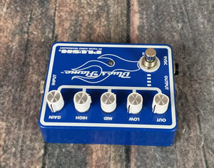 Fuchs pedal Fuchs Plush Blues Flame Overdrive Pedal