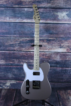 G&L Guitars Electric Guitar G&L Left Handed ASAT Classic Bluesboy Electric Guitar - Shoreline Gold