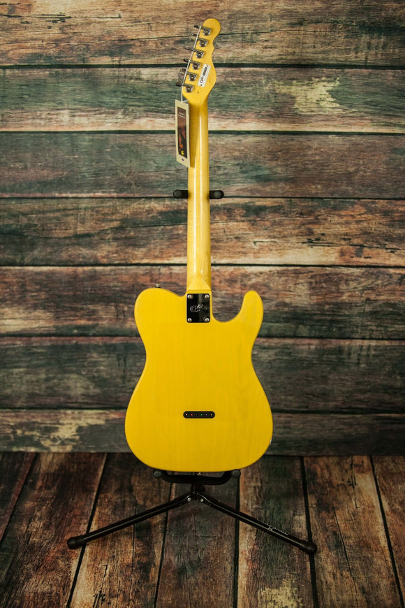 G&L Guitars Electric Guitar G&L Left Handed Asat Classic Butterscotch Electric Guitar