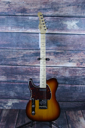 G&L Guitars Electric Guitar G&L Left Handed ASAT Classic Electric Guitar- Old School Tobacco burst