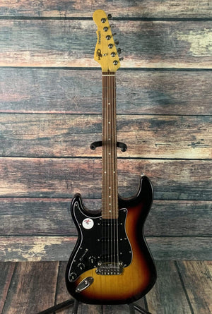 G&L Guitars Electric Guitar G&L Left Handed Legacy Tribute Electric Guitar- Sunburst