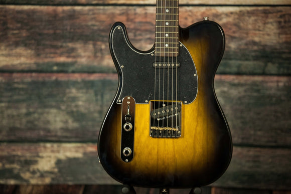 G&L Guitars Electric Guitar Includes Hard Shell Case G&L Left Handed Asat Classic Electric Guitar- Empress Wood 2tsb