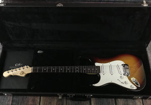 G&L Guitars Electric Guitar Used G&L 2011 Left Handed Legacy Electric Guitar with Case - Sunburst