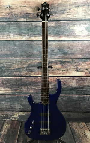 Gadow Electric Bass Used Gadow Left Handed Custom 4 Bass with Gig Bag