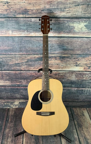 Giannini Acoustic Guitar Giannini Left Handed GD-41 SPC Acoustic Guitar