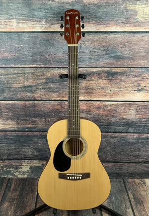 Giannini Acoustic Guitar Giannini Left Handed GS-36 3/4 Short Scale Student Acoustic Guitar