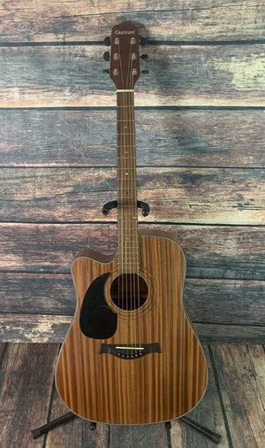 Giannini Acoustic Guitar Giannini Left Handed GS-41CEQ Acoustic Electric Guitar