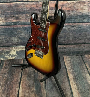 Giannini Electric Guitar Giannini Left Handed  G-100 LH Electric Guitar- Sunburst