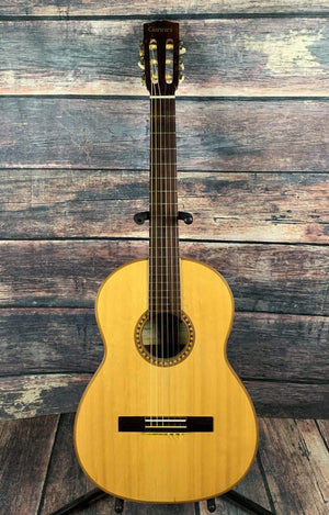 Giannini Electric Guitar Used Giannini Vintage 60's Tranquillo Model 70 Brazilian Made Classical Guitar with Gig Bag