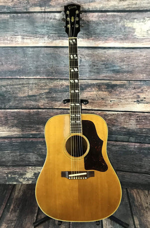 Gibson Acoustic Guitar Used Gibson 1968 Country Western Acoustic Guitar with Hard Shell Case