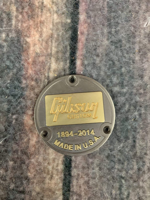 Gibson Electric Guitar Gibson Les Paul Custom Shop 1894-2014 Logoz Toggle Switch Cover Back Plate