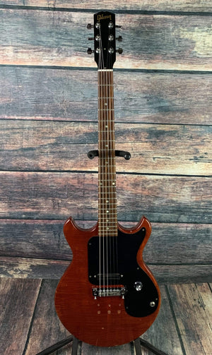 Gibson Electric Guitar Used Gibson 1965-1968 Melody Maker Electric Guitar with Tweed Case- Cherry