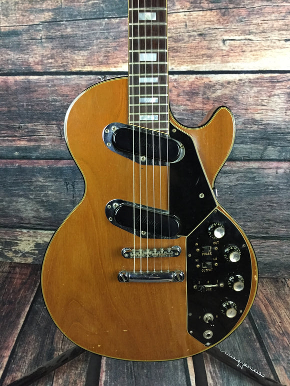 used gibson 70 39 s les paul recording electric guitar with hard shell ca. Black Bedroom Furniture Sets. Home Design Ideas