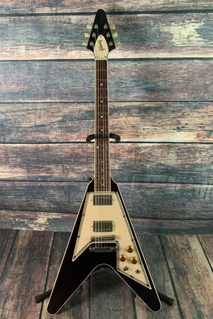 Gibson Electric Guitar Used Gibson Grace Potter Signature Flying V Electric Guitar with Gibson Case- Nocturnal Brown