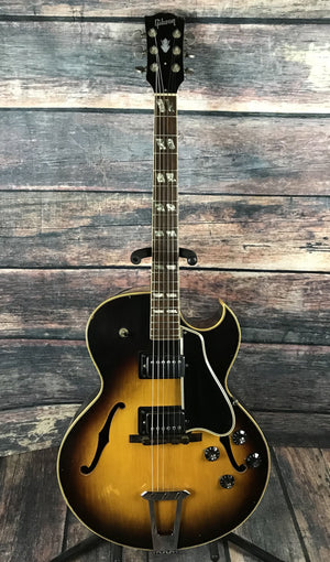 Gibson Electric Guitar Used Gibson Vintage 1952 ES-175D Hollow Body Electric Guitar with Case