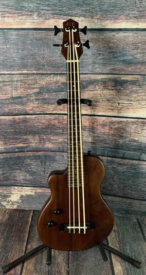 GoldTone Acoustic Bass Gold Tone Left Handed ME-Bass 23 Inch Scale Solid Body Fretted Micro Bass