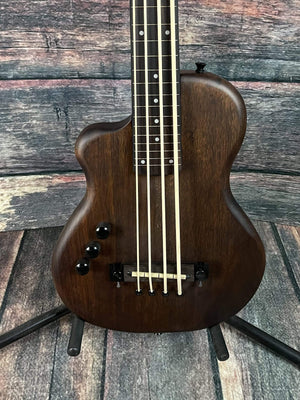 GoldTone Acoustic Bass Gold Tone Left Handed ME-Bass 23 Inch Scale Solid Body Short Scale Fretless Micro Bass