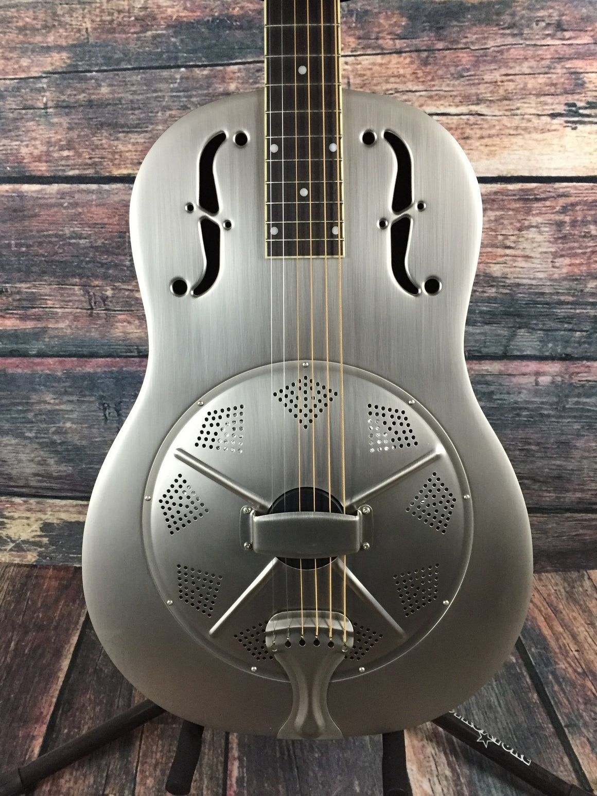 GoldTone Acoustic Guitar Gold Tone Left Handed Paul Beard GRS Resonator Guitar