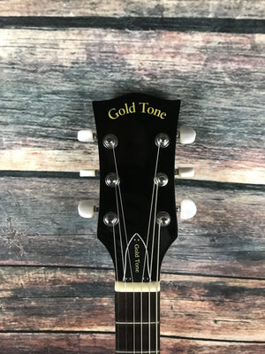 GoldTone Banjo GoldTone Left Handed GT-500 6 String Acoustic Electric Banjitar