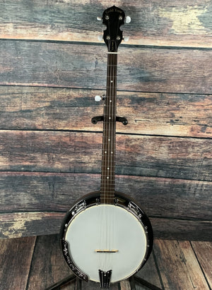 GoldTone Banjo Used GoldTone CC-BG 5 String Resonator Banjo with Gig Bag