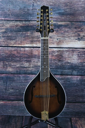 GoldTone Mandolin Gold Tone Left Handed GM12 + 12 String Acoustic Electric Mandolin