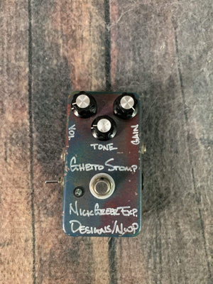 Greer Amps pedal Used Greer Ghetto Stomp Custom Overdrive Pedal