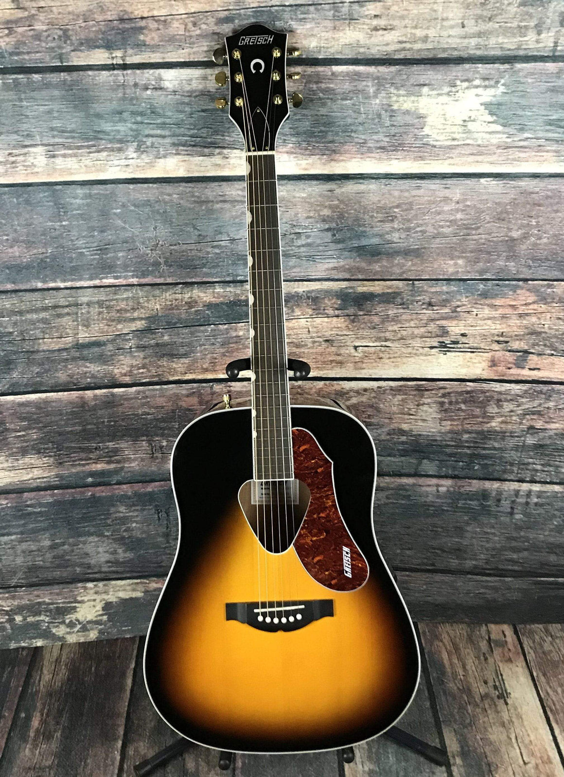 Gretsch Acoustic Guitar Used Gretsch G5024E Rancher Acoustic Electric with Gig Bag