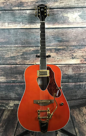 Gretsch Acoustic Guitar Used Gretsch G5034TFT Rancher with Fideli-Tron Pickup and Bigsby Tailpiece-Savannah Sunset