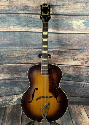 Gretsch Electric Guitar Used Gretsch 1954 6014 Syncromatic Arch Top Acoustic Guitar with Case