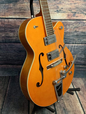 Gretsch Electric Guitar Used Gretsch Right Handed G5120 Electromatic Hollow Body Electric Guitar with Hard Shell Case
