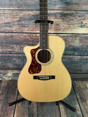 Guild Acoustic Guitar Guild Left Handed OM-140LCE Acoustic Elecrtric Guitar