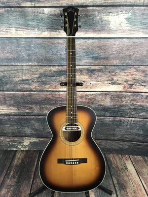 Guild Acoustic Guitar Guild Westerly Series M-240E Troubadour Archback Acoustic Electric Guitar