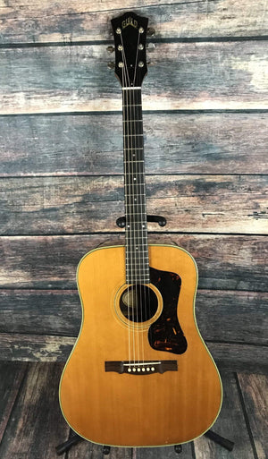 Guild Acoustic Guitar Used Guild 1966 D-50 Acoustic Guitar with Case