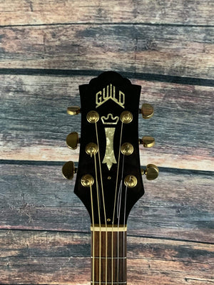 Guild Acoustic Guitar Used Guild F5CE-NT USA Made Thin Body Acoustic Electric Guitar with Guild Hard Shell Case