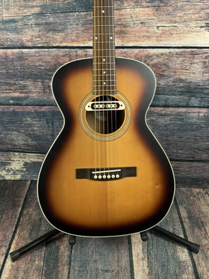 Guild Acoustic Guitar Used Guild Westerly Series M-240E Troubadour Archback Acoustic Electric Guitar with Bag