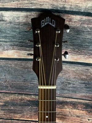 Used Guild Westerly Series M-240E Troubadour Archback Acoustic Electric Guitar with Bag