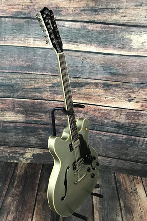 Guild Electric Guitar Guild Newark St. Collection Starfire IV ST-12 12 String Semi Hollow Electric Guitar- Shoreline Mist