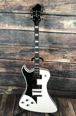 Hagstrom Electric Guitar Hagstrom Left Handed Fantomen Electric Guitar- White