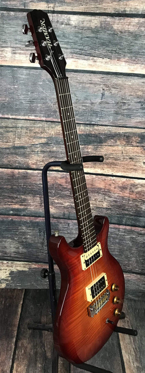 Hamer Electric Guitar Used Hamer 1993 USA GATS-SO Studio Double Cutaway Electric Guitar with Hard Shell Case