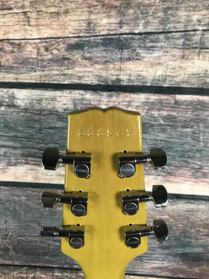 Hamer Electric Guitar Used Hamer USA Special TV Yellow Double Cutaway Electric Guitar With Case