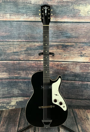 Harmony Electric Guitar Used Harmony Alden Vintage H45 1pu Stratotone Electric Guitar with Original Case
