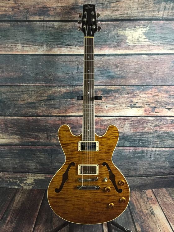 Heritage Electric Guitar Heritage Right Handed Prospect Bluesman Semi hollow Electric Guitar