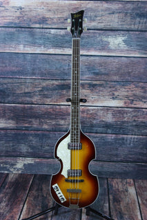 Hofner Electric Bass Hofner Left Handed HCT5001 Contemporary Series Electric Violin Bass