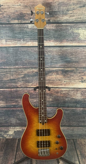Ibanez Electric Bass Used Ibanez 1983 RB-924CS Roadstar II 4 String Japanese Built Bass with Hard Case