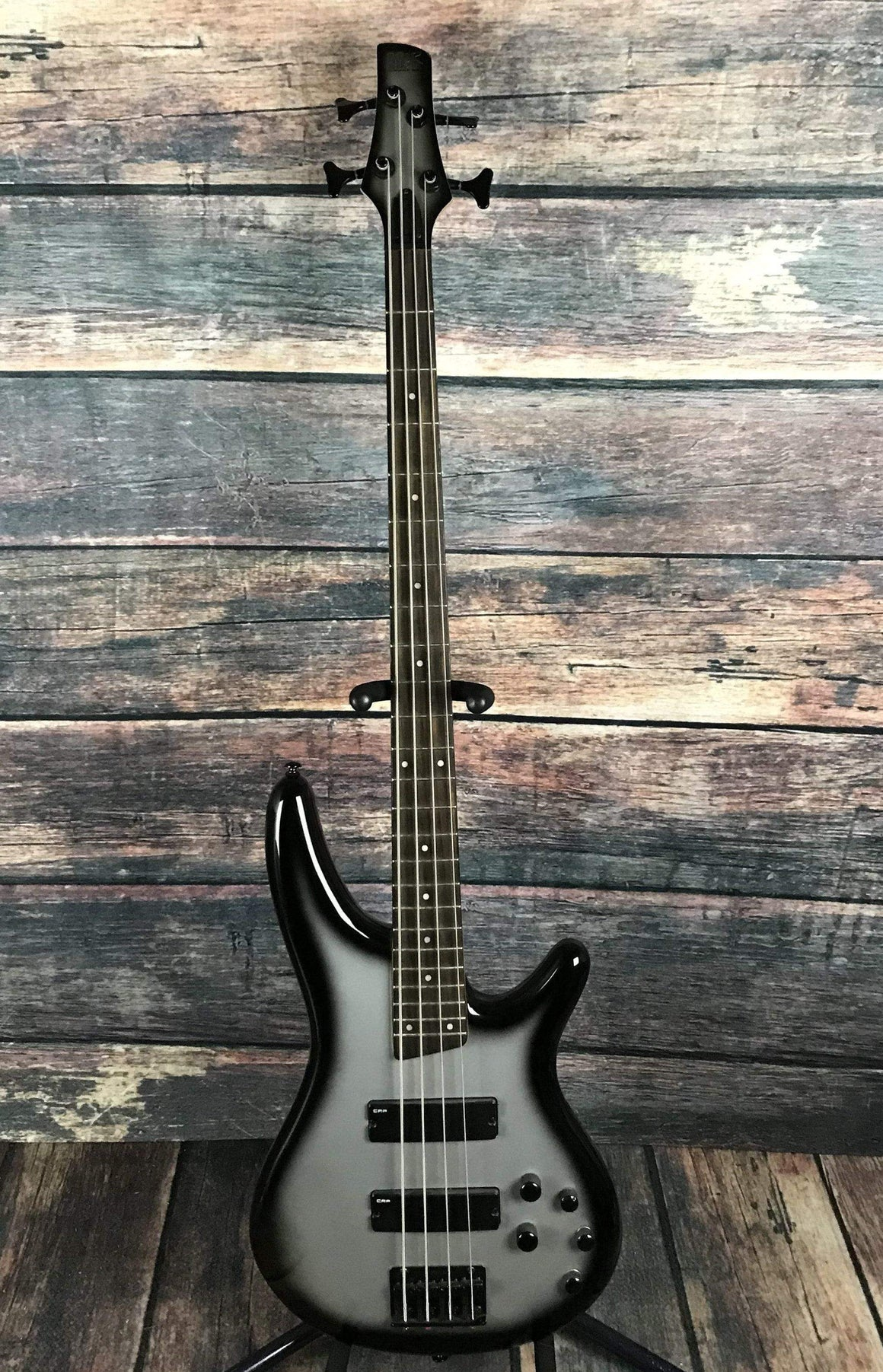 Ibanez Electric Bass Used Ibanez SR250 Sound Gear 4 String Electric Bass with Gig Bag- Silverburst