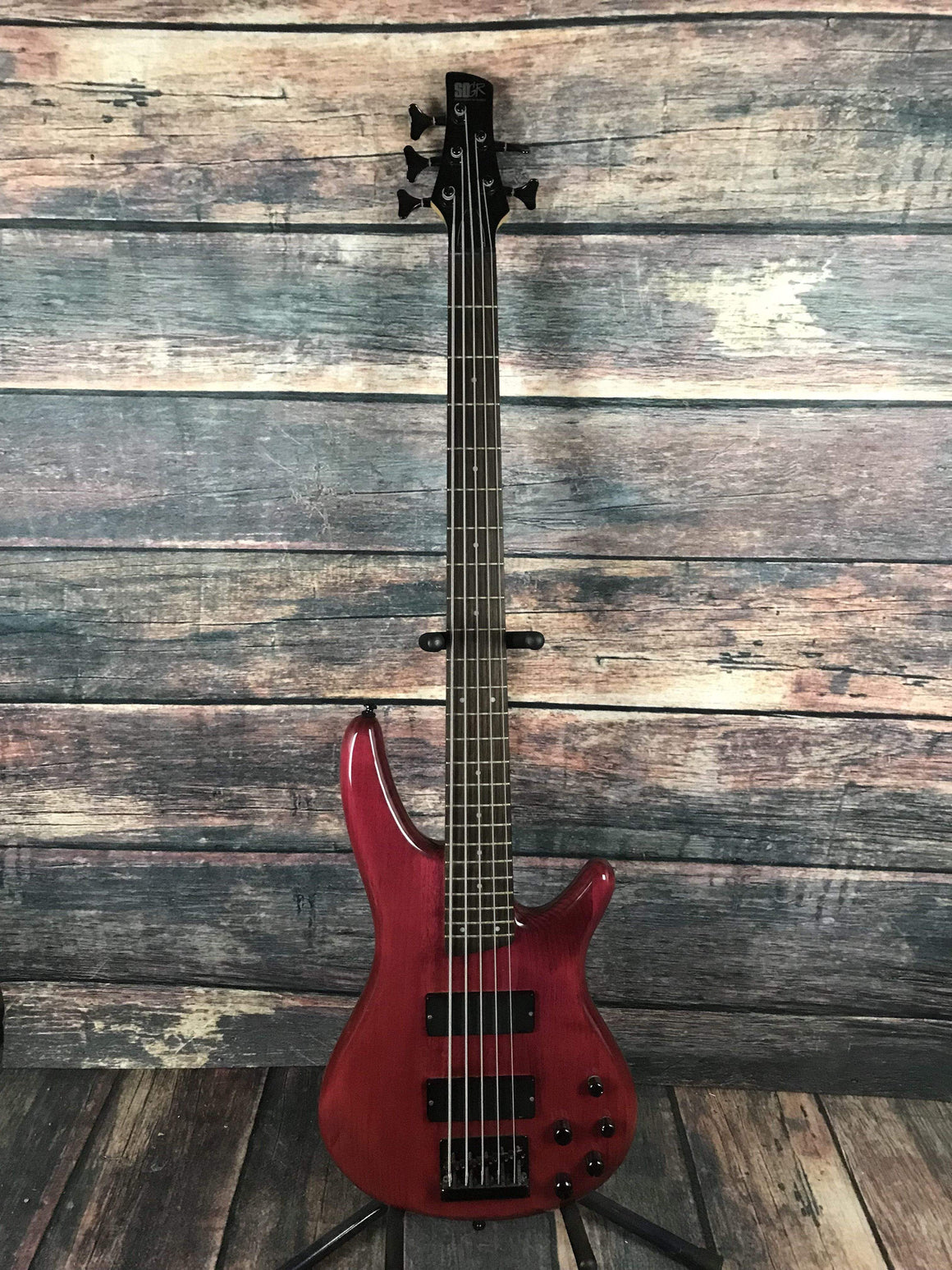 Ibanez Electric Bass Used Ibanez SR405 5 String Electric Bass with Ibanez Case