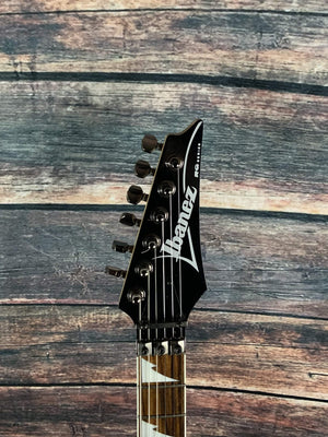 Ibanez Electric Guitar Used Ibanez RG350EX HSH Electric Guitar - Gloss Black