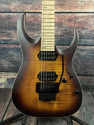 Ibanez Electric Guitar Used Ibanez RGA R42MFMT Electric Guitar with Gig Bag - Satin Dragon Eye Burst